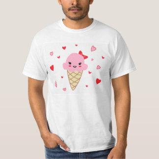 愛アイスクリーム Tシャツ