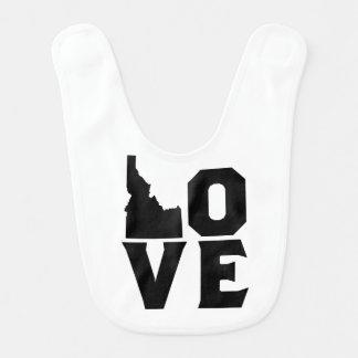 愛アイダホのベビー用ビブ ベビービブ