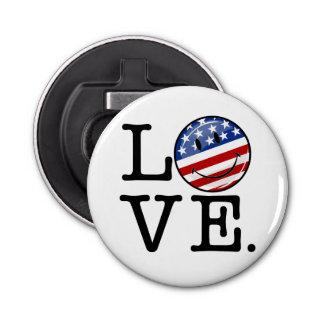 愛アメリカの微笑の旗 栓抜き