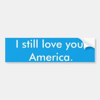 愛アメリカの愛国心が強いアンチ切札のステッカー バンパーステッカー