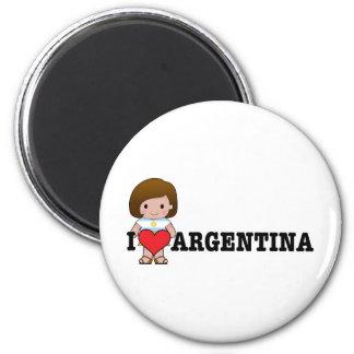 愛アルゼンチン マグネット