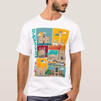 愛アレキサンドリアのTシャツ Tシャツ