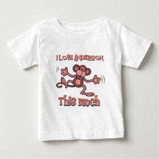 愛アンダーソン ベビーTシャツ
