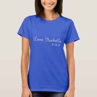 愛イザベラ Tシャツ