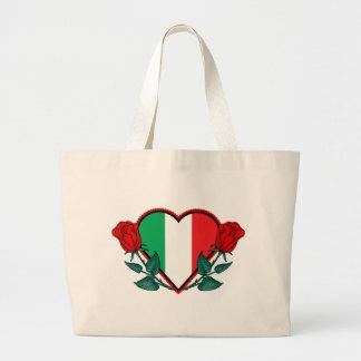 愛イタリア ラージトートバッグ