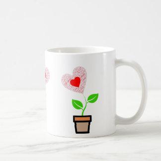 愛インスピレーション11ozのマグを育てて下さい コーヒーマグカップ