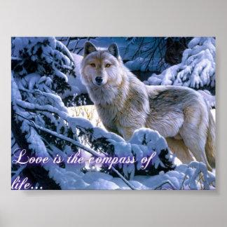 愛オオカミ ポスター