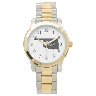 愛オクラホマ 腕時計