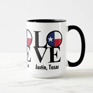 愛オースティンテキサス州15のozのコーヒー・マグ マグカップ