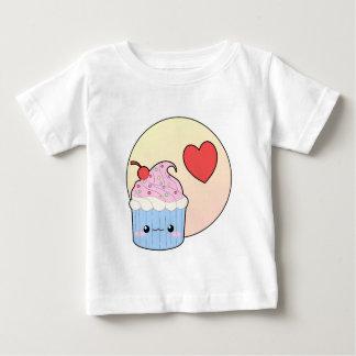 愛カップケーキ ベビーTシャツ