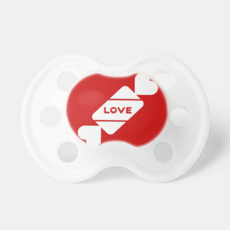 愛キャンデーの絵のバレンタインのデザイン おしゃぶり