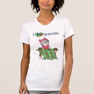 愛キルティングのTシャツ- QUILTERのメロディーのコレクション Tシャツ