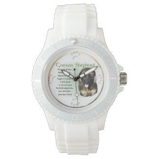 愛ギフトのジャーマン・シェパードの伝統 腕時計