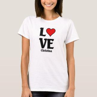 愛クリスティーナ Tシャツ