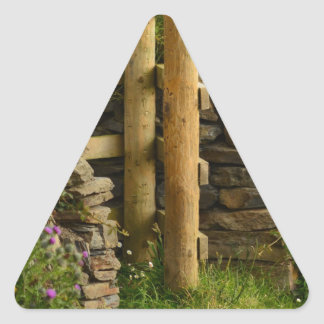 愛ゲート 三角形シール