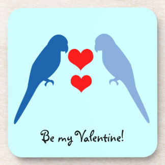 愛コルクのコースターの青い鳥 コースター