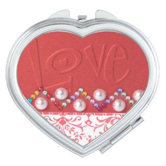 愛コンパクトの鏡