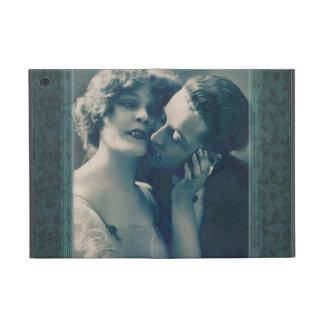 愛ゴシック様式ビクトリアンなドラキュラのカップルの吸血鬼 iPad MINI ケース