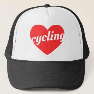 愛サイクリング。 バイクのテーマのギフト キャップ