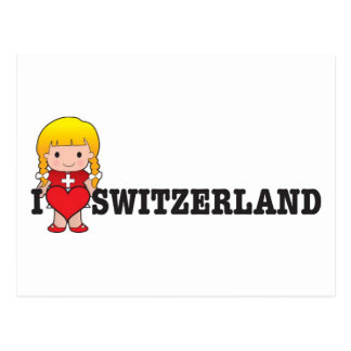 愛スイス連邦共和国 ポストカード
