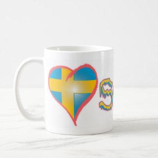 愛スウェーデン コーヒーマグカップ