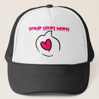 愛スピーチの泡 キャップ