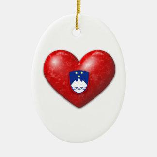 愛スロベニア セラミックオーナメント