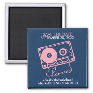 愛セーブ・ザ・デート案内の組合せテープ マグネット