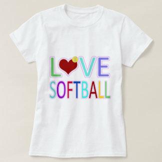 愛ソフトボール Tシャツ