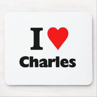 愛チャールズ マウスパッド