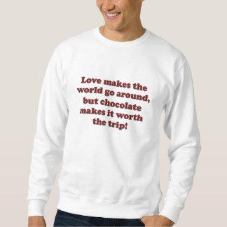 愛チョコレート スウェットシャツ