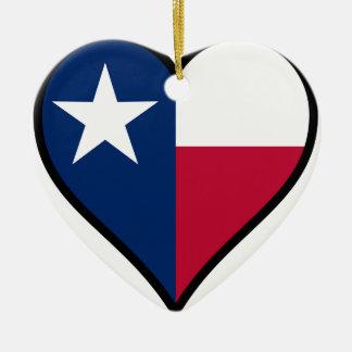 愛テキサス州 セラミックオーナメント