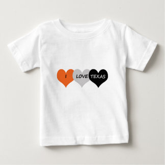 愛テキサス州 ベビーTシャツ