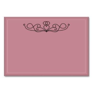 愛テントカードのリング カード
