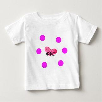 愛デザインのアムハラ語の言語 ベビーTシャツ