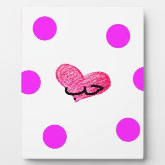 愛デザインのアラビア言語 フォトプラーク