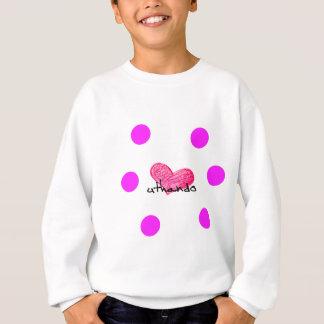 愛デザインのズールーの言語 スウェットシャツ