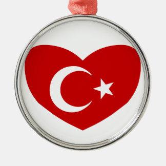 愛トルコ メタルオーナメント
