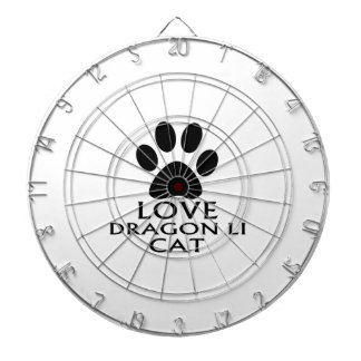 愛ドラゴンの李CATのデザイン ダーツボード