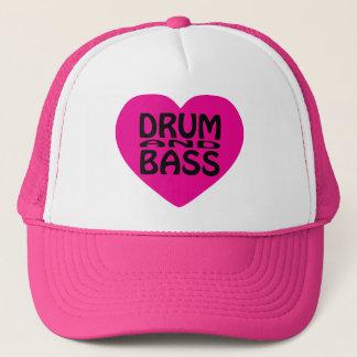 愛ドラムおよび低音の帽子 キャップ