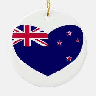 愛ニュージーランド セラミックオーナメント