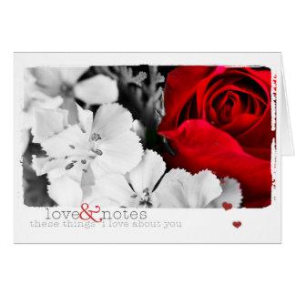 愛ノート カード