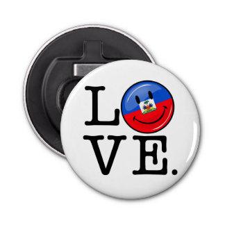 愛ハイチの微笑の旗 栓抜き