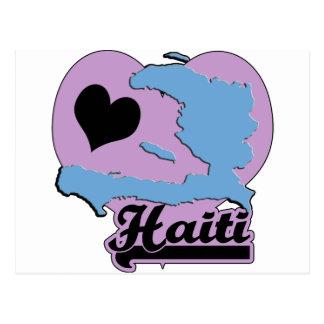 愛ハイチ はがき