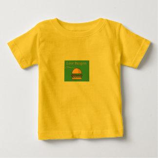 愛ハンバーガー ベビーTシャツ