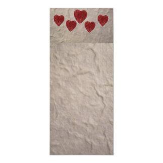 愛ハートのしおり カード