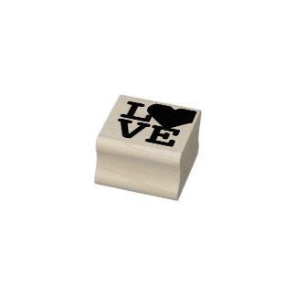 愛ハートのバレンタインデーのクラシックでシックな芸術の技術 ラバースタンプ