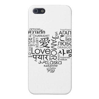 愛ハートの言語 iPhone 5 カバー