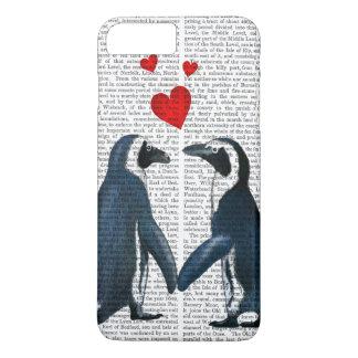愛ハートを持つペンギン iPhone 8 PLUS/7 PLUSケース