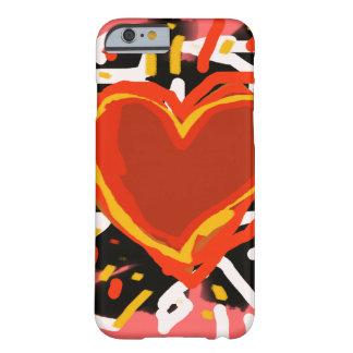 愛ハート、芸術のスタイル BARELY THERE iPhone 6 ケース